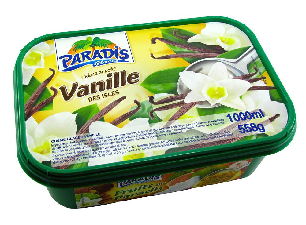 Crème Glacée Vanille des Iles