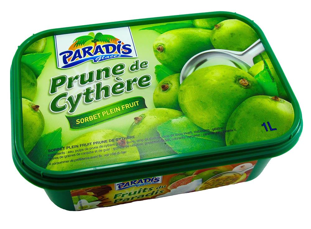 Sorbet plein fruit Prune de Cythère