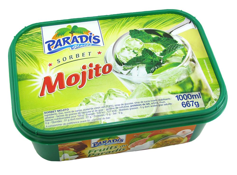 Sorbet Mojito