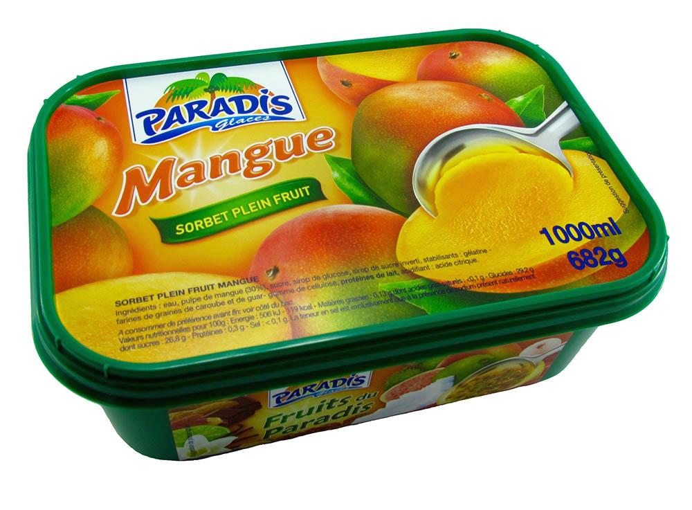 Sorbet plein fruit Mangue