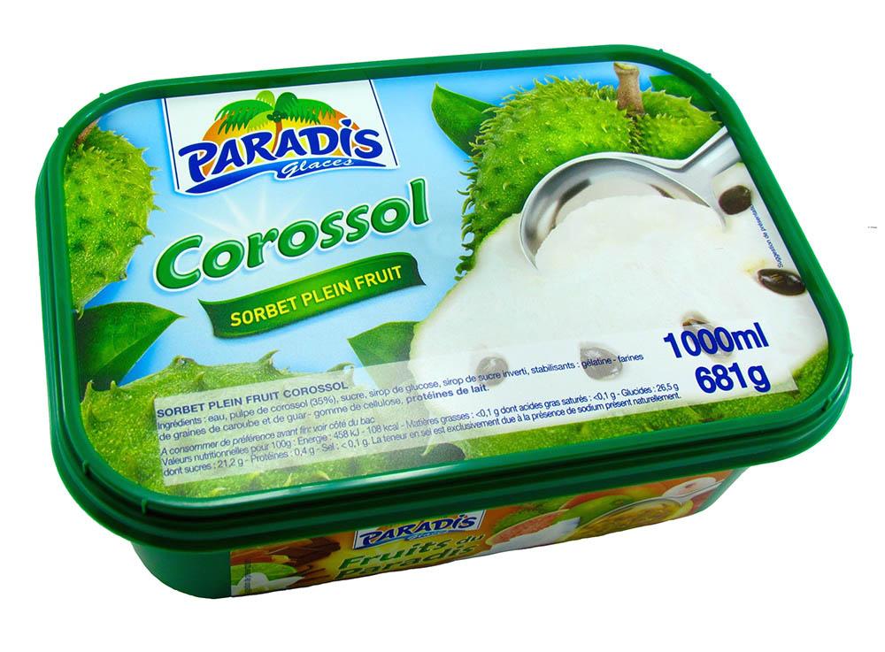 Sorbet plein fruit Corossol