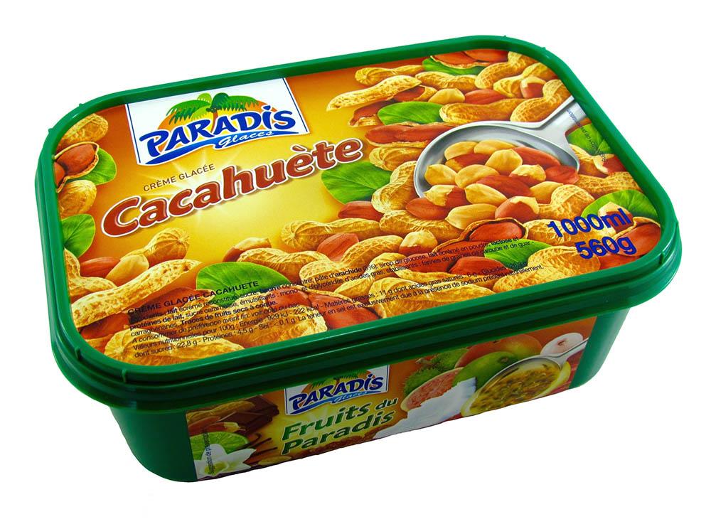 Crème Glacée Cacahuètes