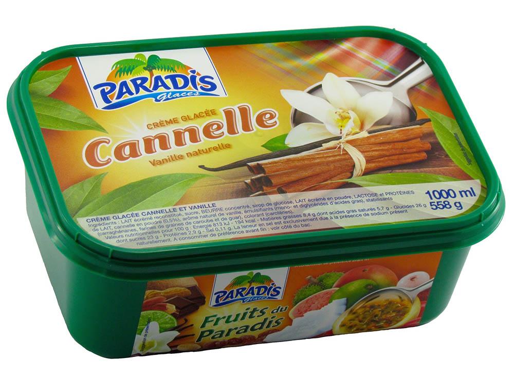 Crème Glacée Cannelle & vanille naturelle